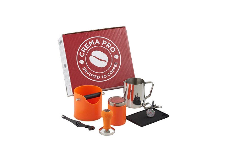 CREMA PRO Barista Kit – Burnt Orange