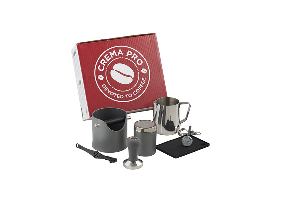 CREMA PRO Barista Kit – Dark Grey