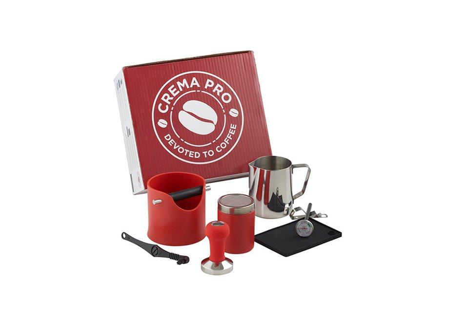 CREMA PRO Barista Kit – Red