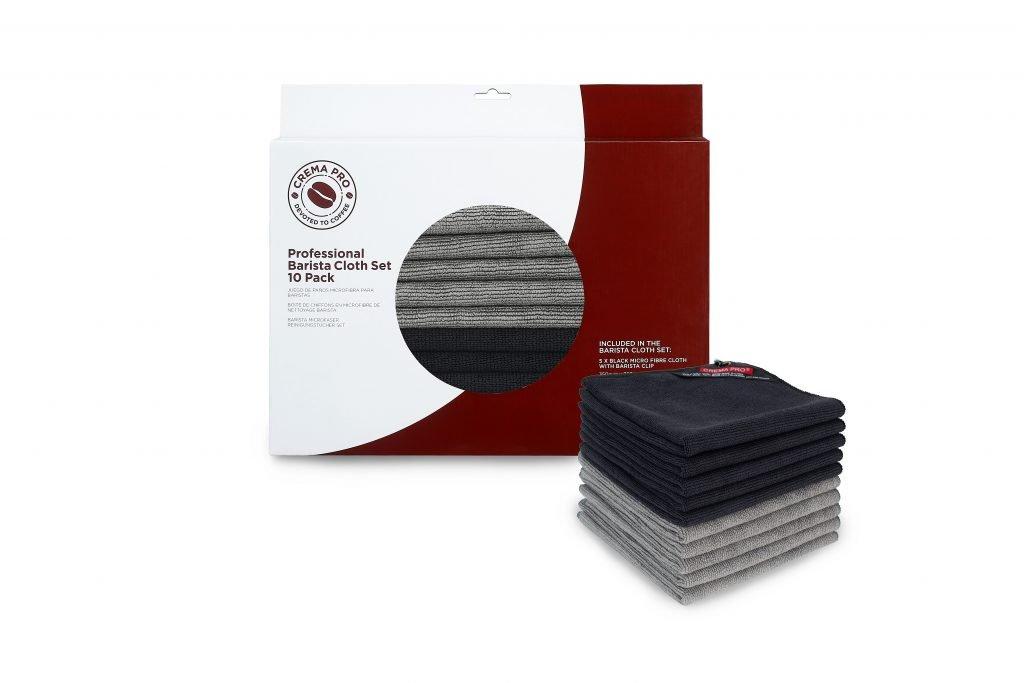 CREMA PRO Professional Barista Cloth Set 10 Pack